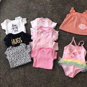 Newborn girl clothes